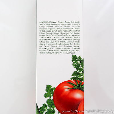Review of Lafine Vegetable Foam Cleansing