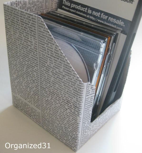 Organized 31 - Upcycled Tuna Box