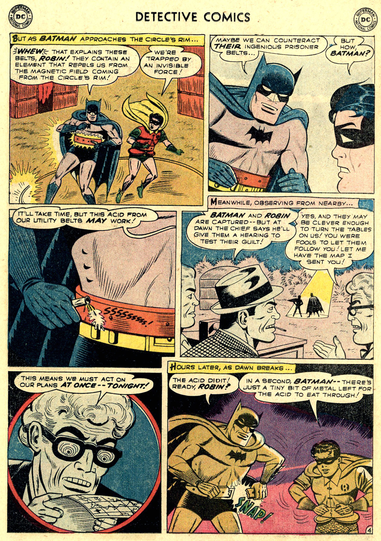 Read online Detective Comics (1937) comic -  Issue #263 - 6