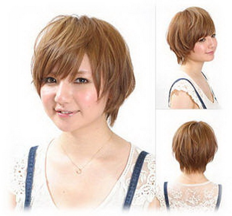 43 Short haircuts for round face women | Hairstylo