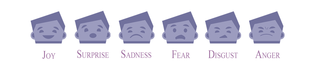 the 6 basic emotions