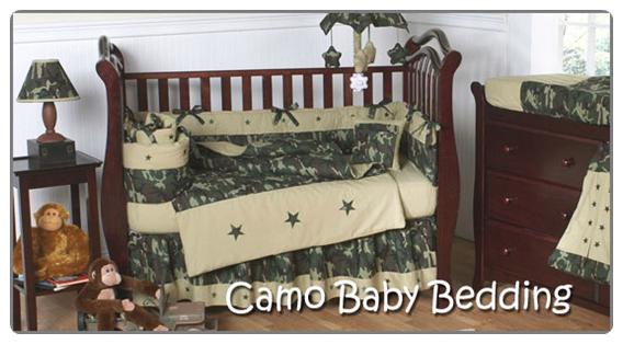 Camo Baby Bedding