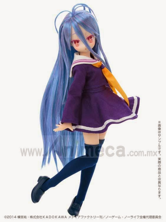 SHIRO Pure Neemo Character Serie No.083 DOLL Game No Life Azone International