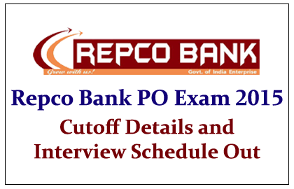 Repco Bank PO Exam 2015