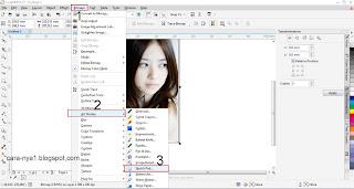 Cara Membuat Gambar Sketsa Menggunakan Corel Draw