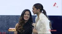 Deepika Padukone in Elegant White Saree and Choli at an award Function  Exclusive Pics 017.jpeg