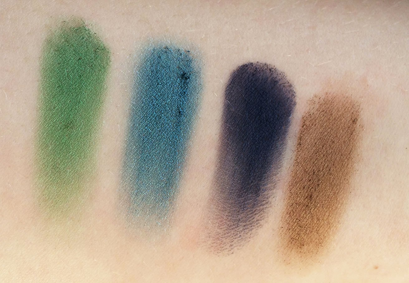 Urban Decay Vice 3 Palette with Swatches Review Dragon, Freeze, Heroine, Brokedown