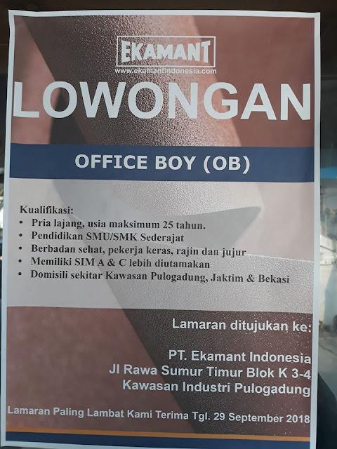 https://lokerkerjapt.blogspot.com/2018/09/lowongan-kerja-office-boy-pt-ekamant.html
