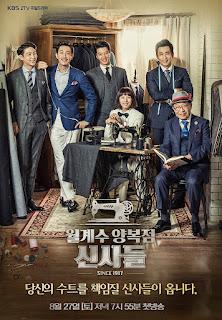 SINOPSIS Laurel Tree Tailors / The Gentlemen of Wolgyesu Tailor Shop Episode Lengkap 1-Terakhir
