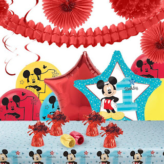 Mickey Mouse Theme Decoration Kit