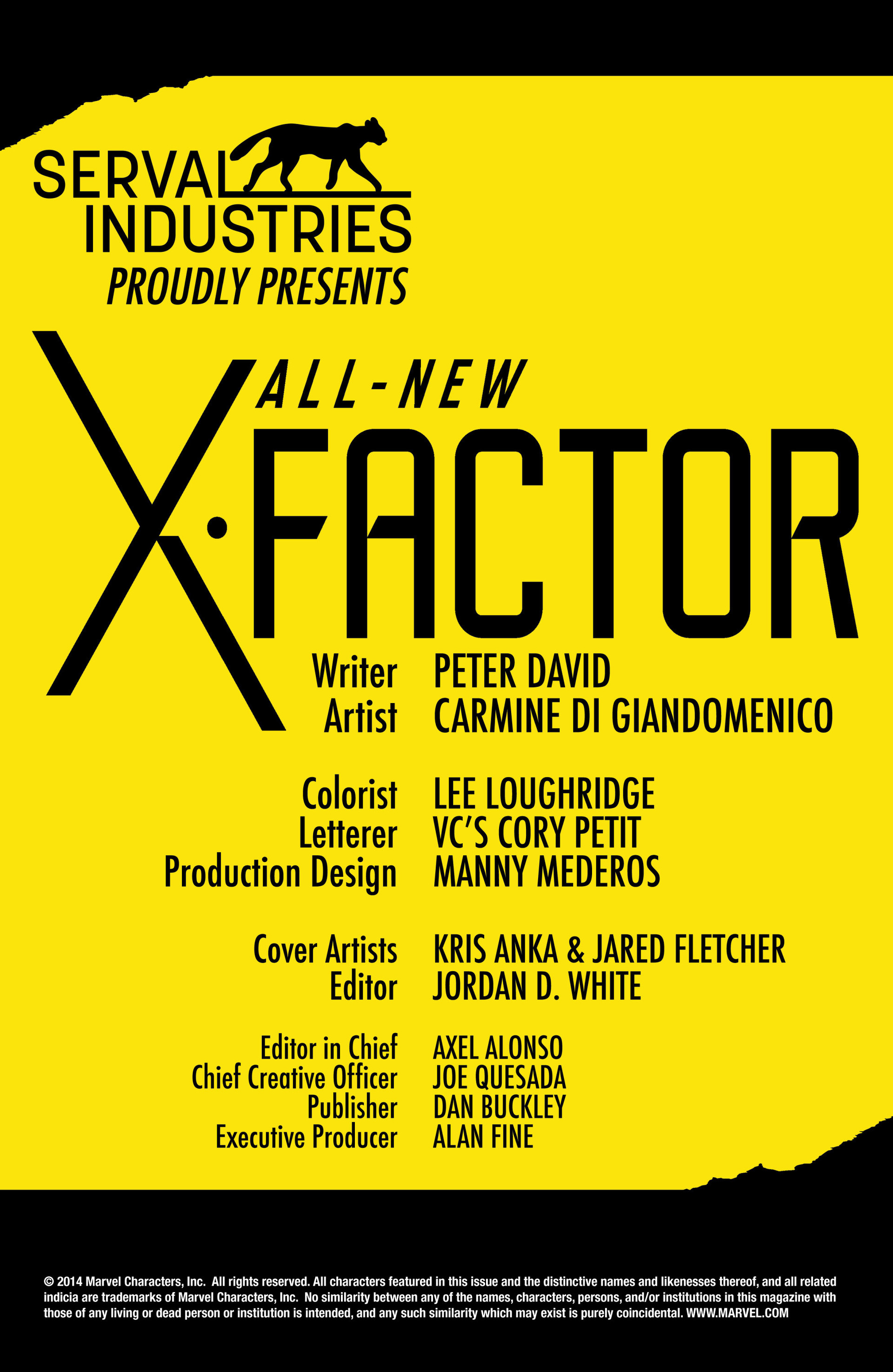 Read online All-New X-Factor comic -  Issue #1 - 2