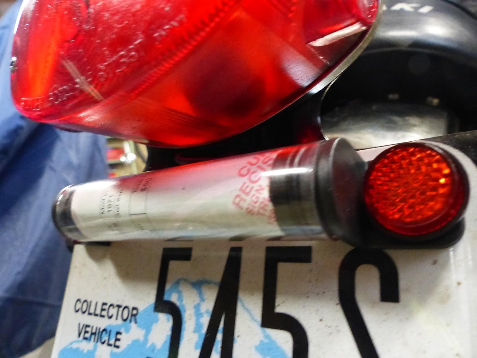 OldMotoDude: Motorcycle Registration Holder