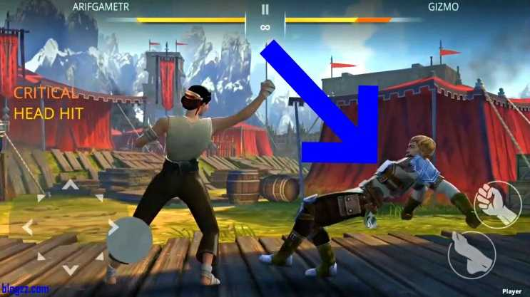 Shadow Fight'da doğru zamanda doğru hamleleri yapabilirseniz karşılaşmaları çok daha kolay kazanabilirsiniz.