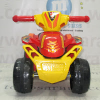 Motor Mainan Aki Tajimaku ATV Red