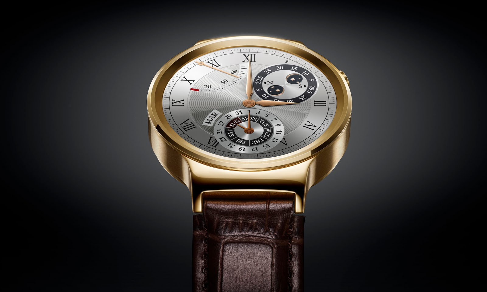 HUAWAI WATCH - AUSSEN ZEITLOSES DESIGN, INNEN SMART