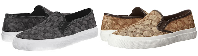 COACH Chrissy Outline Slip-On Sneakers $40 (reg $85)