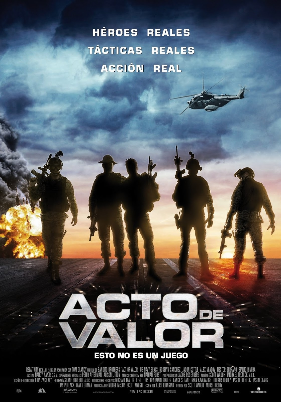 ACT OF VALOR TV Spot