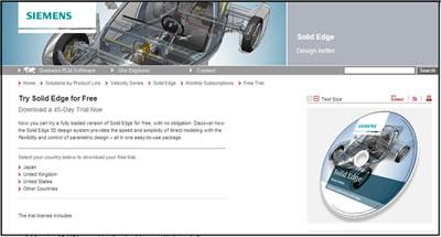 Siemens Solid Edge free download