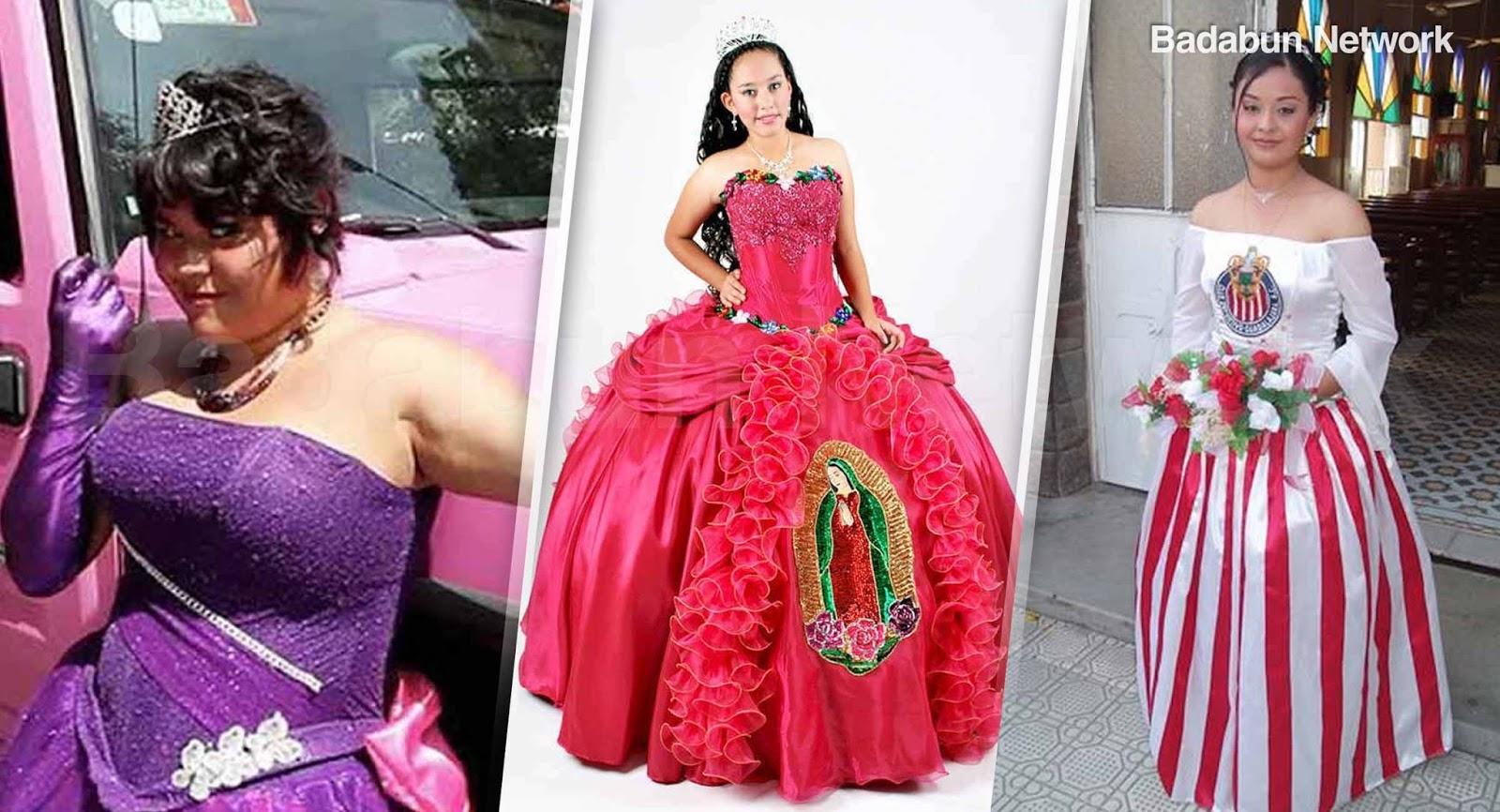 32cd8b32b Blog para optimizar Badabun  Los peores 14 vestidos de XV años. La ...