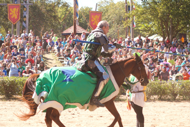 Jousting at KC Ren Fest