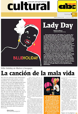 Billie Holiday, de Muñoz y Sampayo, en ABC Color. La ...