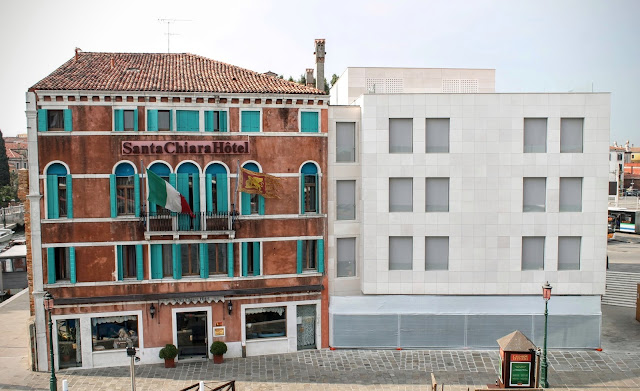 Hotel Santa Chiara and its new extension, Venice