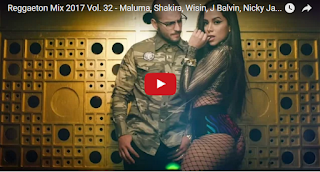 Reggaeton Mix 2017 Vol. 32 - Maluma, Shakira, Wisin, J Balvin, Nicky Jam...