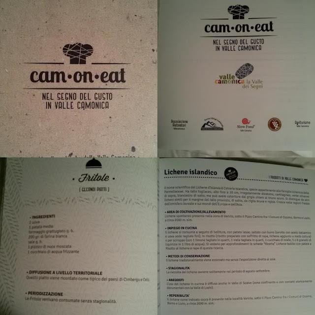 il libro di ricette di Cam-on-eat