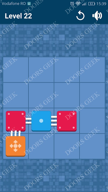 Connect Me - Logic Puzzle Level 22 Solution, Cheats, Walkthrough for android, iphone, ipad and ipod
