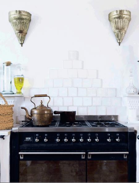 lamparas arabes en la cocina chicanddeco