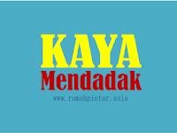 2 Usaha Cepat Kaya Mendadak 2017