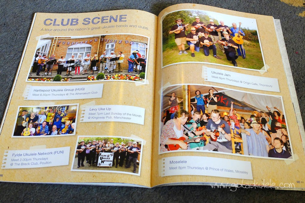 ukulele club feature in uke magazine