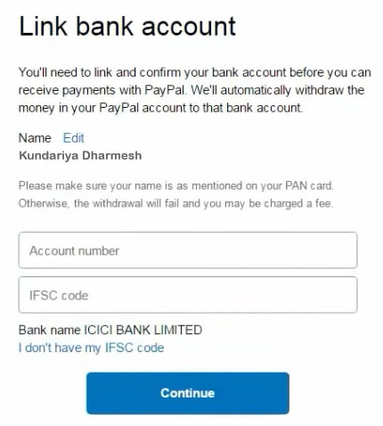 Link kare apne bank account