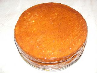 Tort cu gem de caise retete culinare,