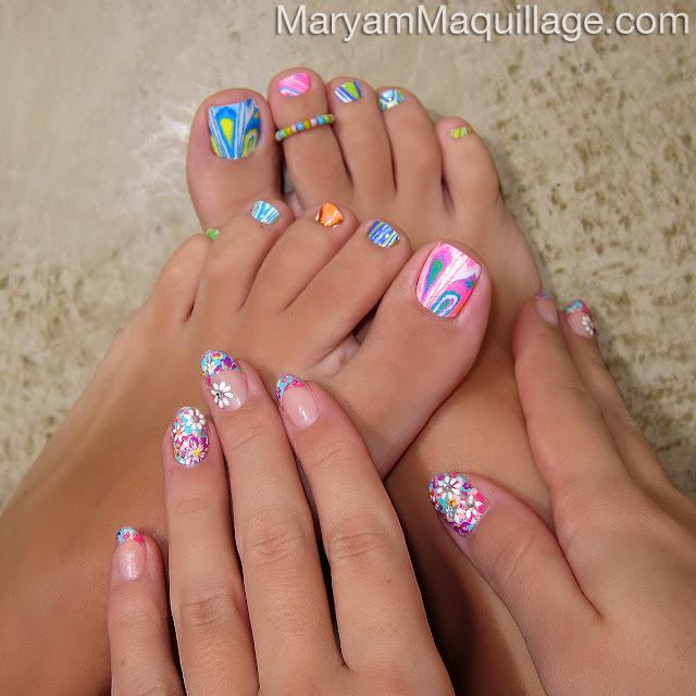 Maryam Maquillage: Nail Art, Toe Art