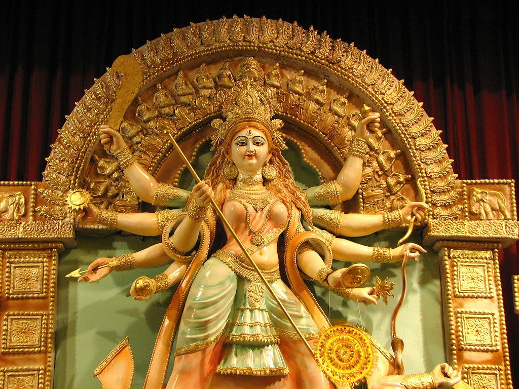 Durga Puja Hd Wallpaper: Jai Maa Durga: बोलो सच्चे दरवार की जय। जय माता दी।।