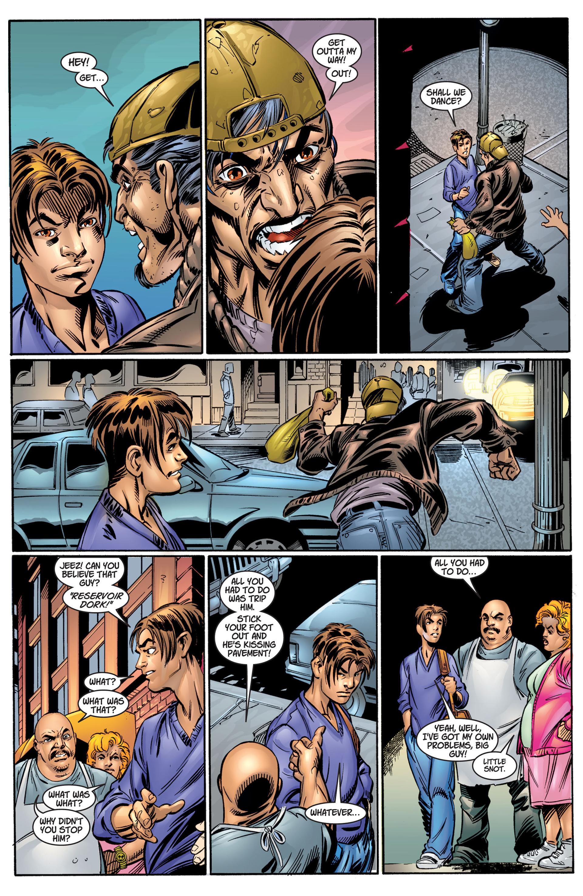 Read online Ultimate Spider-Man (2000) comic -  Issue #4 - 10