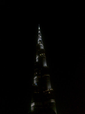 burj khalifa full view