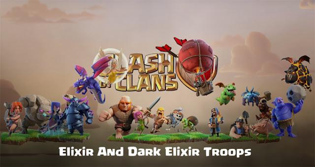 Semua Pasukan di Game Clash Of Clans Terlengkap