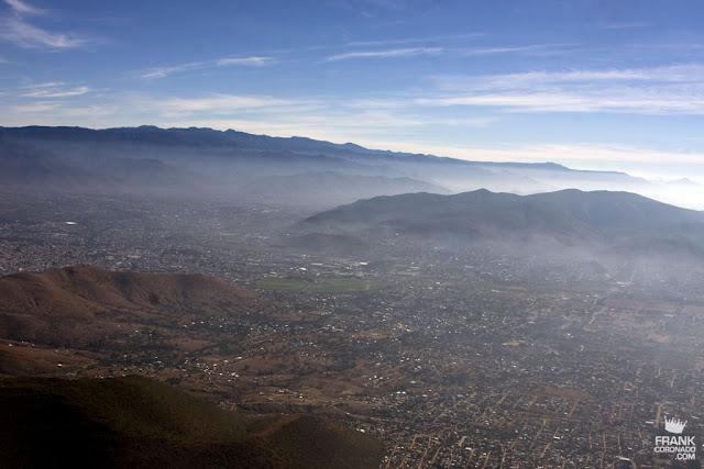 vista aerea de la ciudad de Oaxaca
