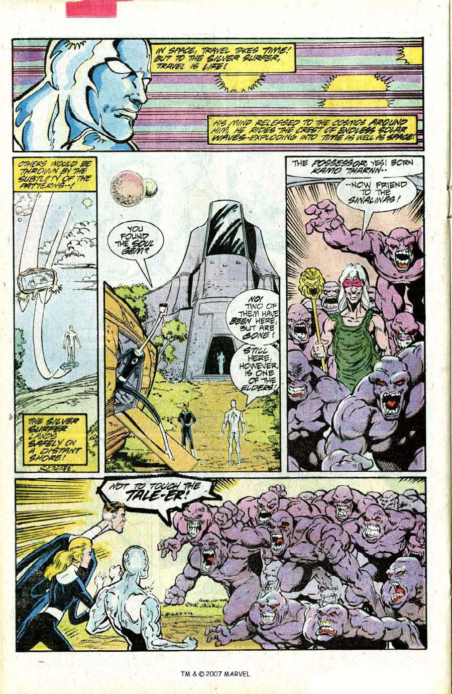 Read online Silver Surfer (1987) comic -  Issue #15 - 20