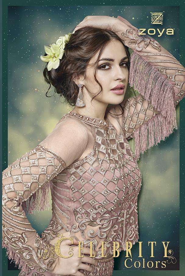 Zoya celebrity colours lehanga's collection