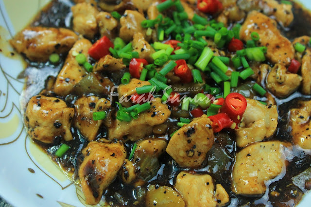 Resepi Ayam Masak Blackpepper / Ayam Masak Lada Hitam