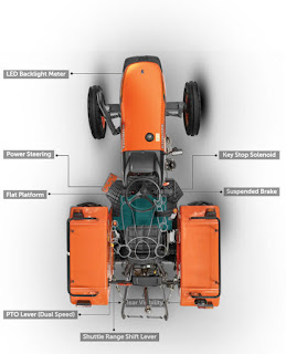Kubota MU4501-2WD Specification Features |  Price | Mileage