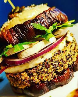 burger végétal minceur croustillant/moelleux