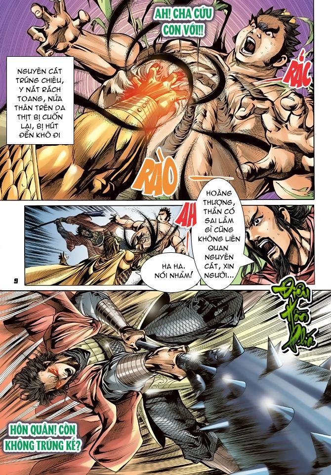 Đại Đường Uy Long chapter 52 trang 9