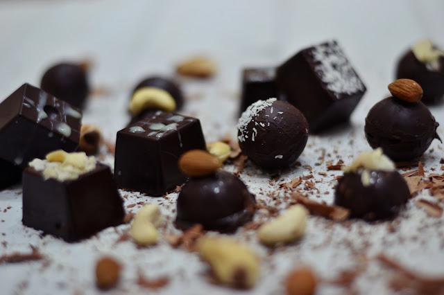 Domácí čokoládové pralinky