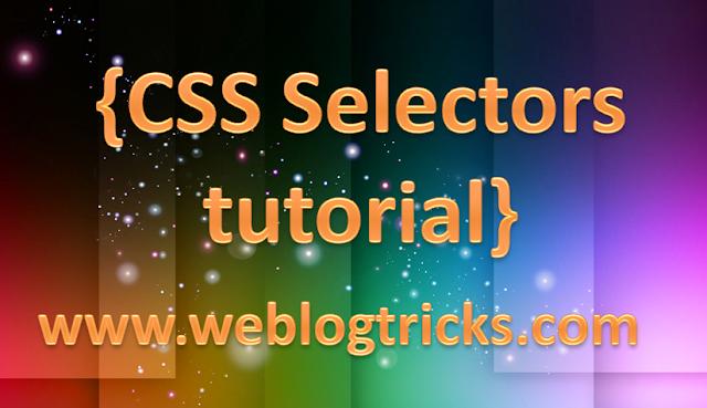 CSS-Selectors-tutorial