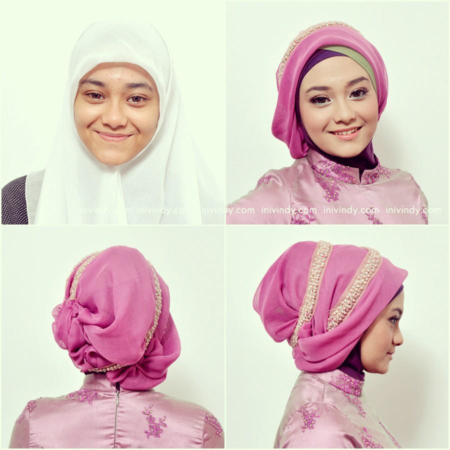 Model Hijab Simple Untuk Wisuda Kumpulan Model Hijab Dan
