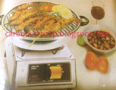 Foto Resep Seafood Panggang atau Bakar Sederhana Spesial Dengan Sambal Kecap Manis Pedas Asli Enak